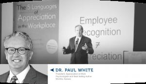 Dr Paul White Speaking